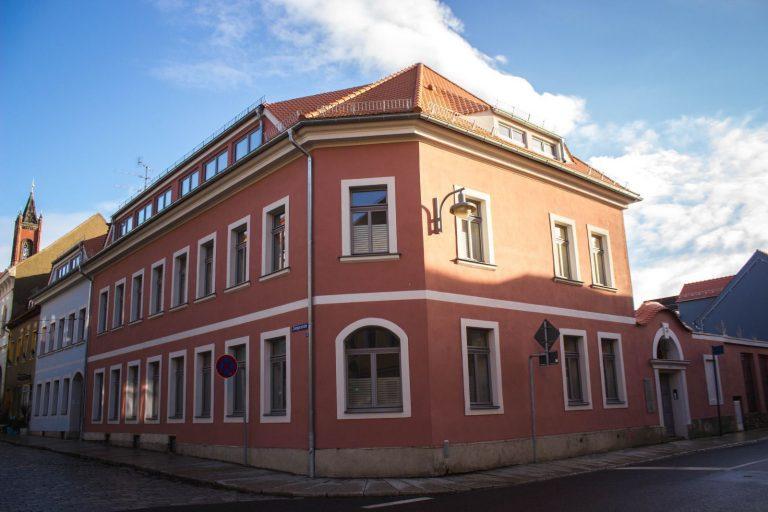 Unsere Praxis Ecke Zwingerstraße/Pulsnitzer Straße in Kamenz