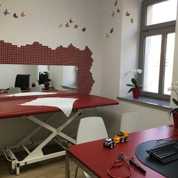 Foto vom Kinder-Sprechzimmer